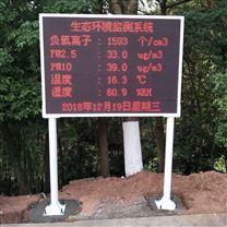 负氧离子及温湿度实时监测景区环境