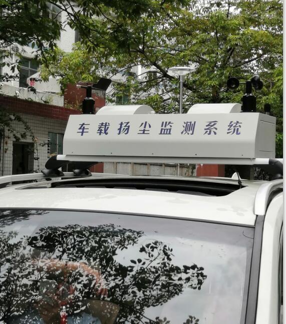 移动式监测车搭载扬尘噪声视频功能
