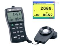 台灣泰仕RS-232專業級照度計TES-1339R