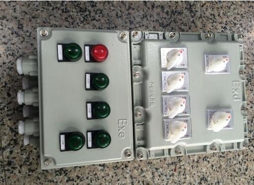 非标定做化工厂防爆检修电源箱控制箱