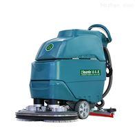 YSD-A6D手推式双刷洗地机工厂车间商用刷地拖地机