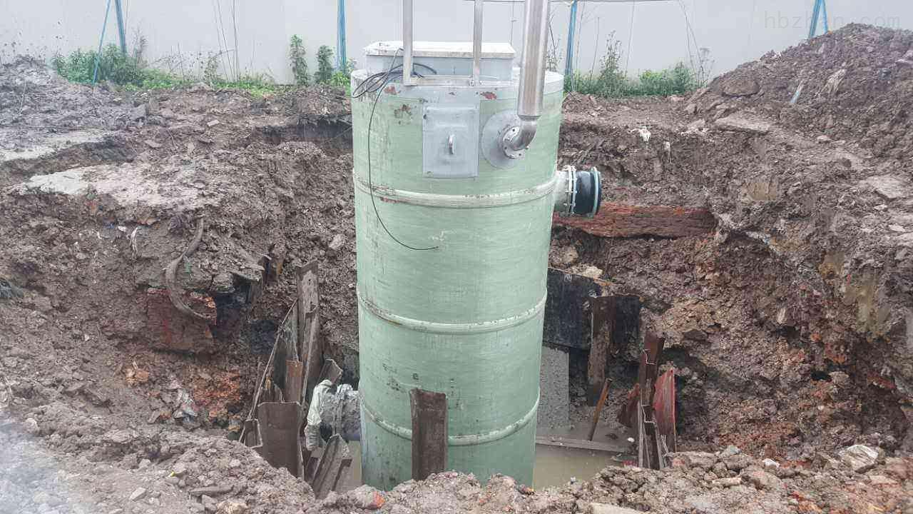 赣州无碱GRP玻璃钢泵站