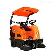 潔樂美電動掃地機駕駛式吸塵清掃車帶遮陽