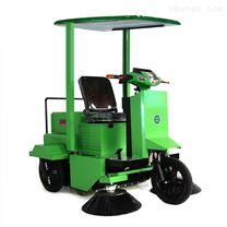 农贸市场垃圾扫地机驾驶式无线三轮清扫车