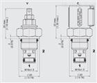 DB3E-02X-250V上海乾拓公司售;贺德克HYDAC的溢流阀
