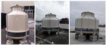 山西冷却塔,60T圆形冷水塔,高强度水塔