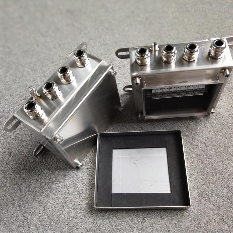 不锈钢FXJ接线箱UK端子箱300*200*100防水箱