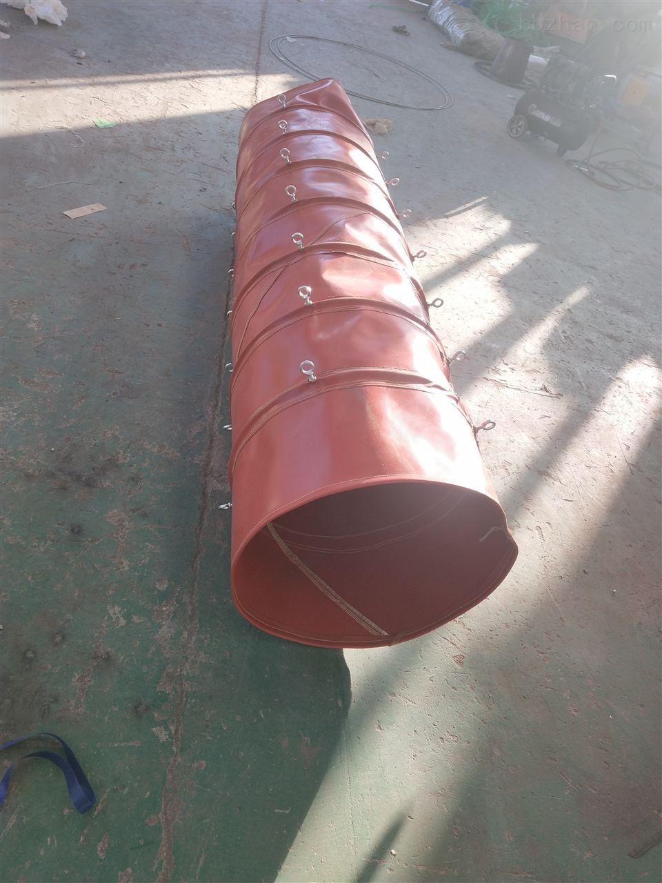 风机帆布伸缩式阻燃通风管