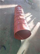 硅胶布耐高温伸缩通风管厂家
