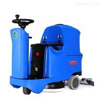 駕駛式洗地機單刷商務樓層通道水洗拖地機