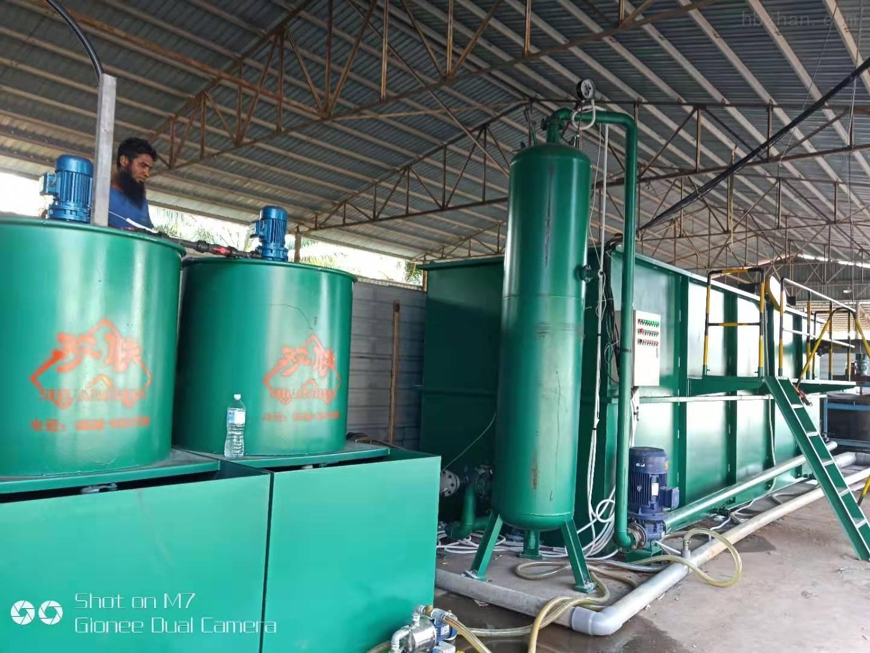 印染污水处理设备工艺特点介绍