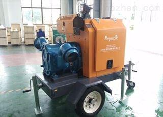 市政抢险移动泵车