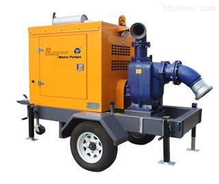 防汛抗旱移动排水泵车