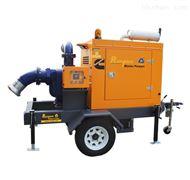 6寸拖车式排涝泵车