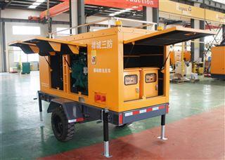 防汛抗旱移动泵车系列