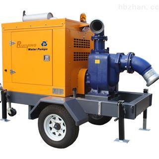 防汛抢险移动泵车