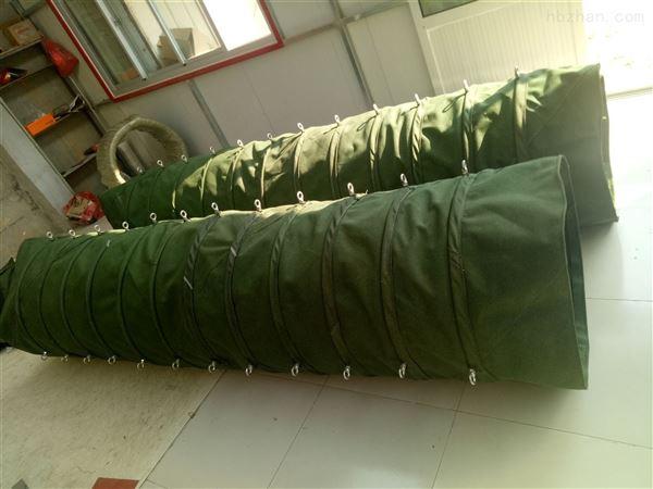 锅炉耐高温除尘帆布伸缩布袋 生产