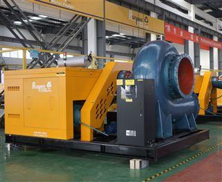 3200方固定式排水泵车