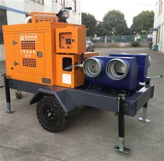 应急移动泵车
