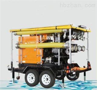 强自吸拖车式移动泵车