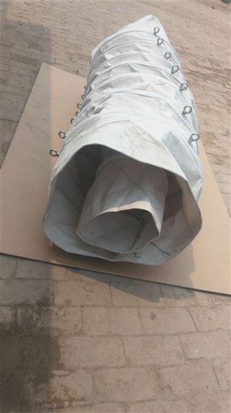 干燥机耐磨损帆布输送伸缩布袋