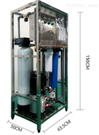 小型不锈钢单双级RO反渗透纯水设备