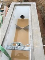 农村污水站专用明渠流量计