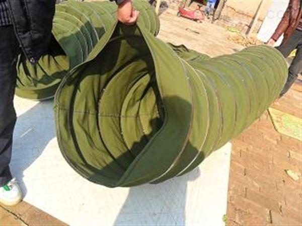 耐磨帆布除尘伸缩布袋 厂家供应
