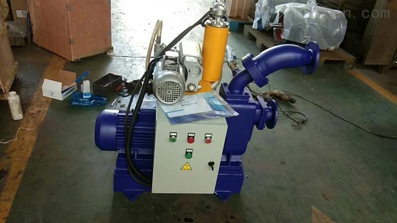 大流量高吸程自吸排污泵