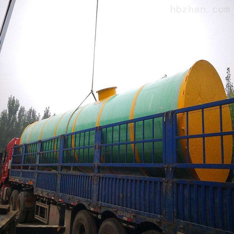 常德污水提升一体化泵站使用方法
