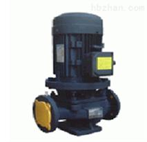 立式单级耐高温管道离心泵