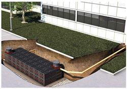 组合式雨水收集再利用系统选材