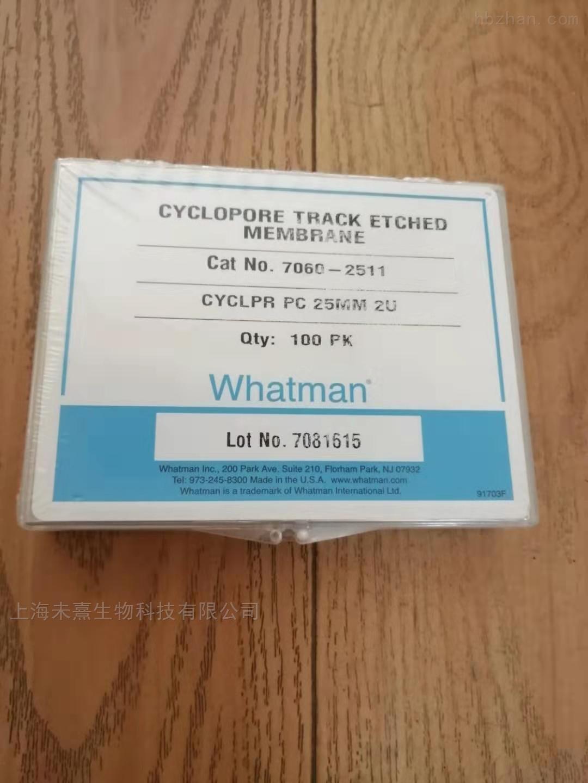 Whatman沃特曼Cyclopore聚碳酸酯亲水滤膜