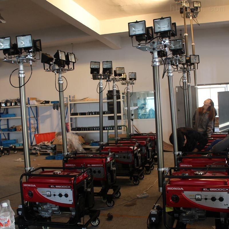 内蒙GAD506F带发电机遥控升降灯防汛应急灯