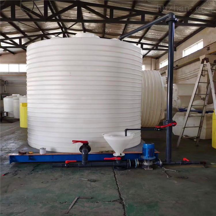 绵阳游仙区5方 锥底搅拌桶 塑料加药箱