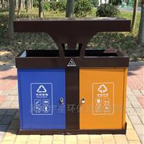 河南郑州厂家生产分类设施果皮箱/垃圾桶