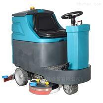 小区车库用驾驶式洗地吸水机