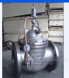 500X不锈钢水力减压阀