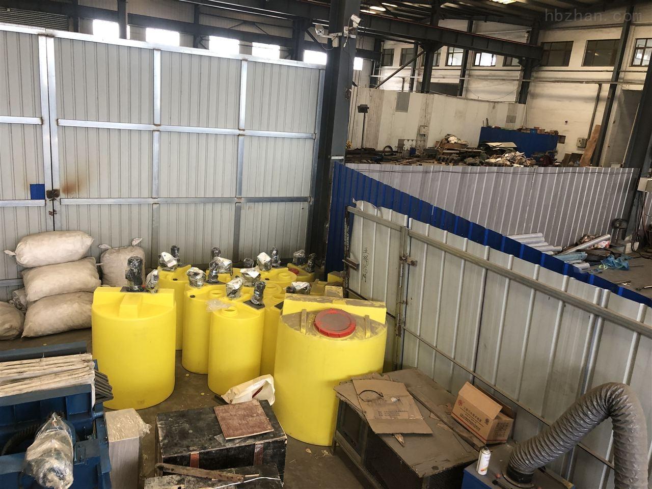 江苏无锡加药装置处理化工废水40吨一天