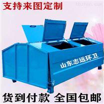 3立方户外大型垃圾箱 钩臂式移动垃圾收集箱