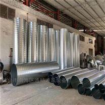 广西螺旋风管厂 通风除尘管道 镀锌排烟风管