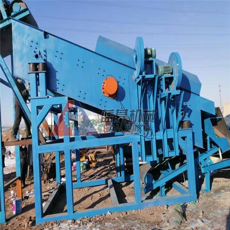 蓝基日产800吨垃圾分拣机在上海成功应用