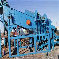 蓝基轮胎式建筑垃圾处理设备在北京多地投产