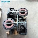 排水泵自耦应用_GAK65铸铁自动耦合器