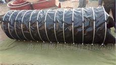 工业水泥收尘帆布伸缩布袋