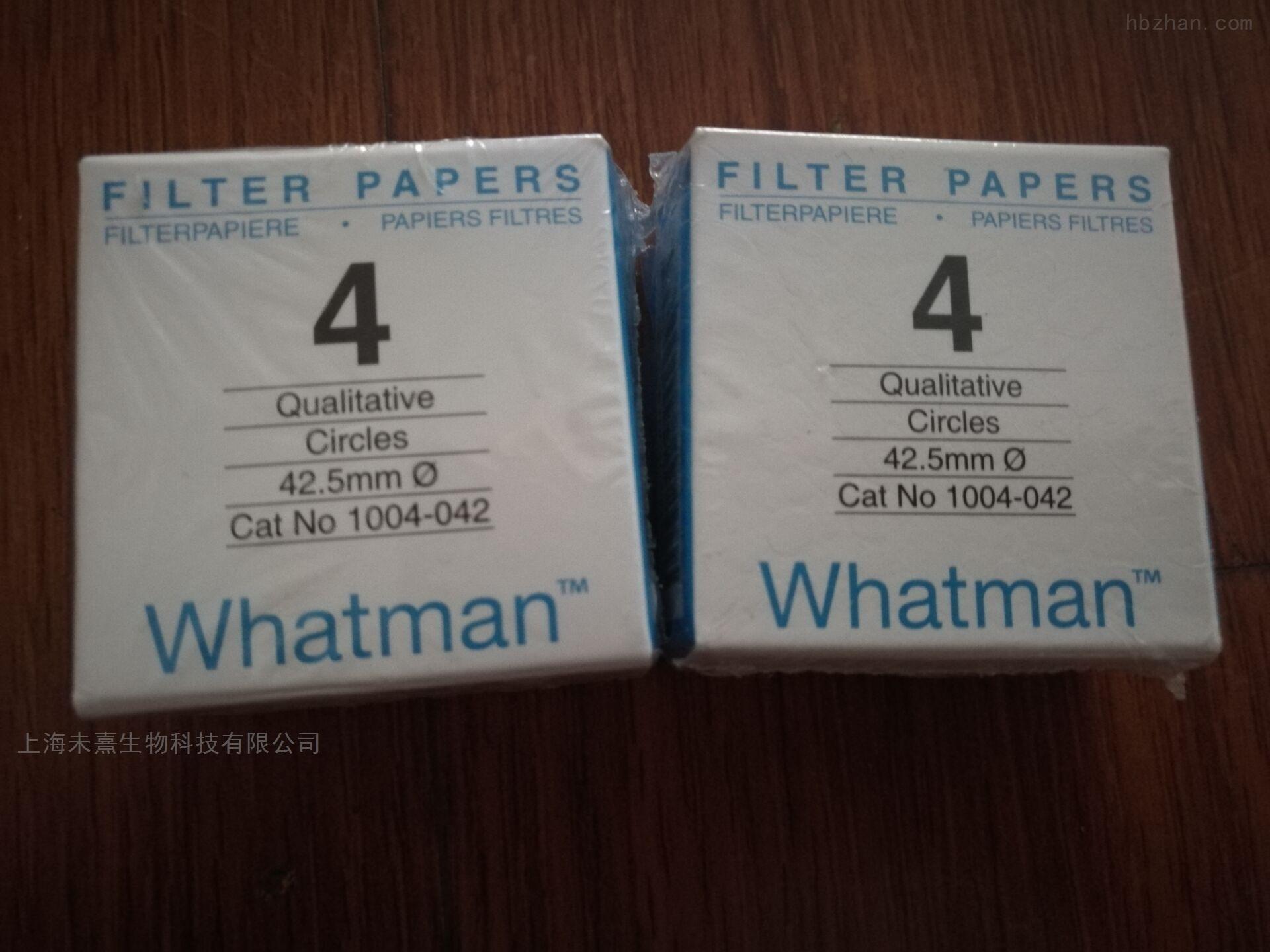 英国whatman滤纸4号定性滤纸