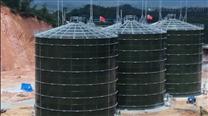 广西陆川固废处理项目搪瓷拼装CSTR反应器