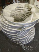 散装水泥除尘伸缩布袋 帆布制作