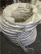 散装水泥防尘通风伸缩布袋生产