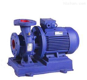 ISW型卧式单级管道离心泵